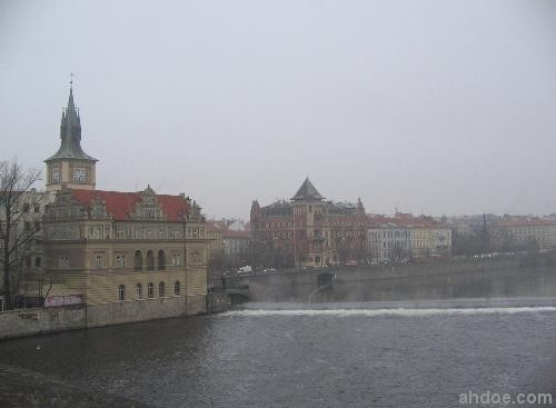 Vltava River from Charles Bridge