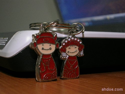 Marriage Keychain