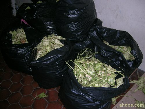 Ketupat Lump Ready for Sale