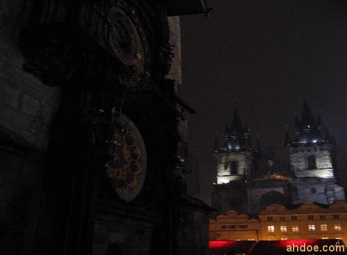 Astronomical Clock and Tyn Cathedral