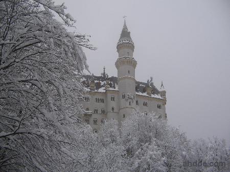 Neuschwanstein Castle in Daytime