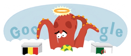 2014 World Cup - Octopus Google Doodle